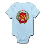 Soviet Russia Coat-of-Arms Infant Creeper
