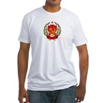 Soviet Russia Coat-of-Arms Fitted T-Shirt