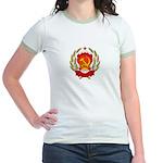 Soviet Russia Coat-of-Arms Jr. Ringer T-Shirt