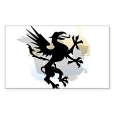 Rampant Griffen Decal