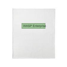 WASP Enterprises 2 Throw Blanket