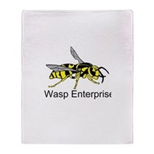 WASP Enterprises 3 Throw Blanket