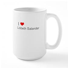 I Love Lisbeth Salander Mug