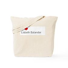 I Love Lisbeth Salander Tote Bag