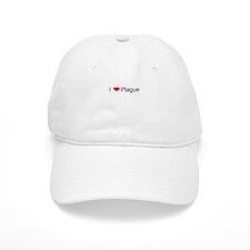 I Love Plague Baseball Cap