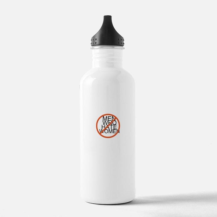 Men Who Hate Women Water Bottle