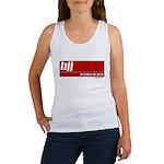 BJJ basics, white on red Women's Tank Top