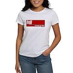BJJ basics, white on red Women's T-Shirt