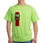 BJJ basics, red white black Green T-Shirt