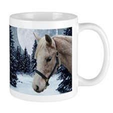 Winter Arabian #1 Small Mug