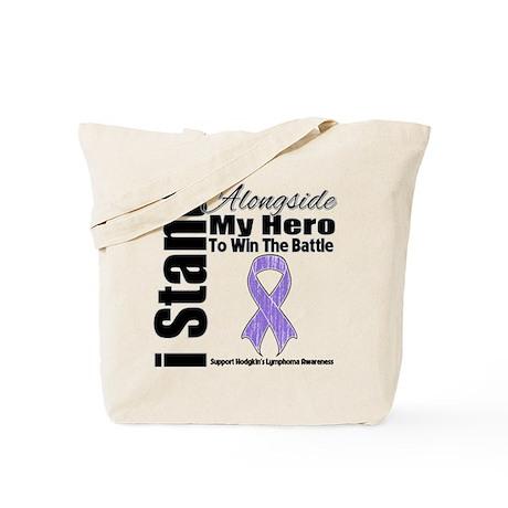 I Stand Hero Hodgkin's Tote Bag