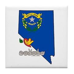ILY Nevada Tile Coaster