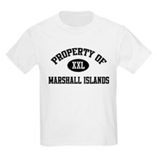 Property of Marshall Islands Kids T-Shirt