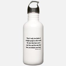 Straight People Water Bottle