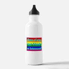 Unique Glbt bi funny Water Bottle