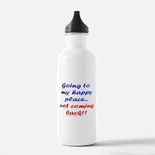 My Happy Place Water Bottle