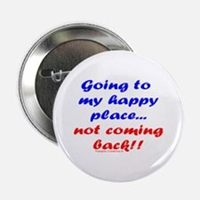 """My Happy Place 2.25"""" Button"""