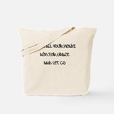 Eat Pray Love - Let Go! Tote Bag