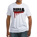 Rough MMA no frills Fitted T-Shirt