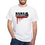 Rough MMA no frills White T-Shirt