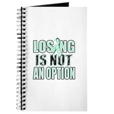 Losing Is Not An Option (teal) Journal