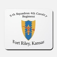 5th Squadron 4th Cavalry Mousepad