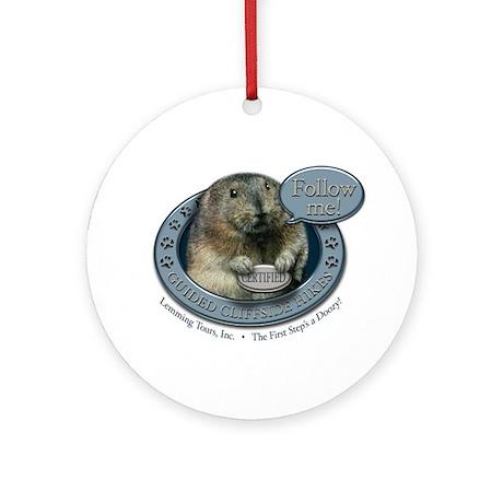 Lemming Tours, Inc. Ornament (Round)