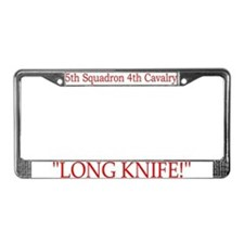 5th Squadron 4th Cavalry License Plate Frame