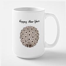 Happy New Year's Ball Large Mug
