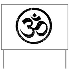 Om Aum Hindu Mantra Yard Sign