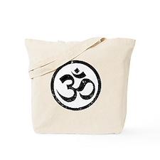Om Aum Hindu Mantra Tote Bag