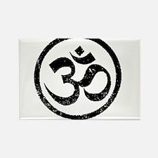 Om Aum Hindu Mantra Rectangle Magnet