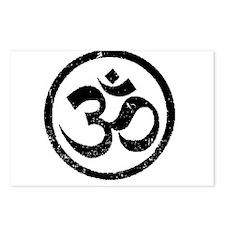 Om Aum Hindu Mantra Postcards (Package of 8)