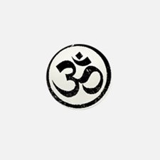 Om Aum Hindu Mantra Mini Button