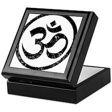 Om Aum Hindu Mantra Keepsake Box