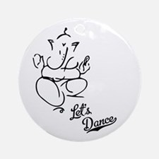 Let's Dance Ornament (Round)