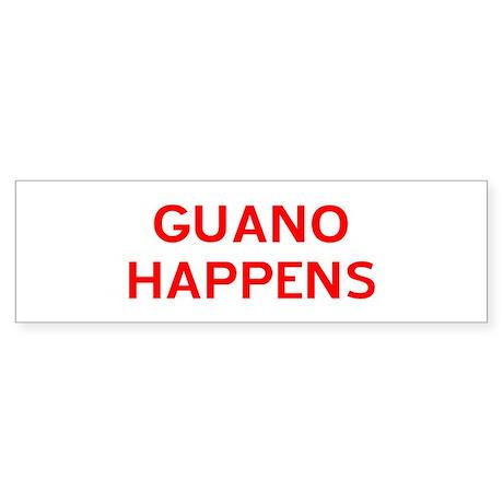 Guano Happens Sticker (Bumper)