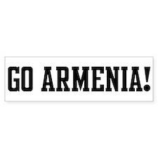 Go Armenia! Bumper Bumper Bumper Sticker