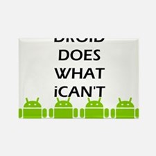 Cute Android Rectangle Magnet (100 pack)