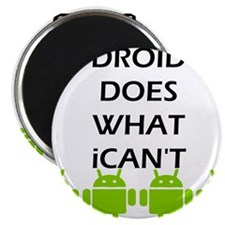 """Funny Android 2.25"""" Magnet (100 pack)"""