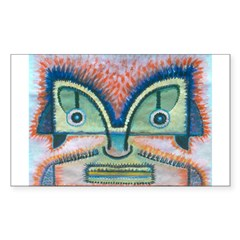 Ethnographic Mask Decal