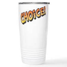 Choice Orange Travel Mug