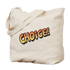 Choice Orange Tote Bag