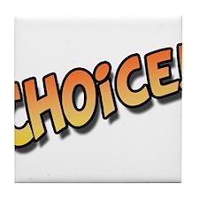 Choice Orange Tile Coaster
