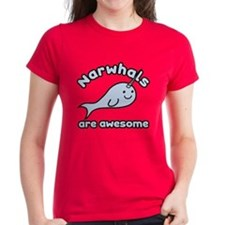 Narwhals Are Awesome Tee