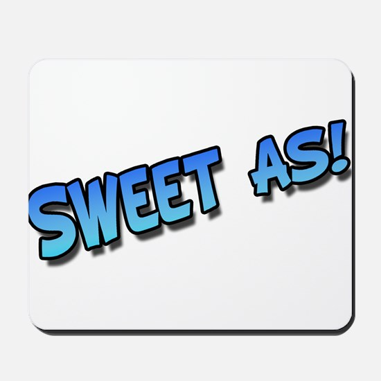 Sweet as blue Mousepad