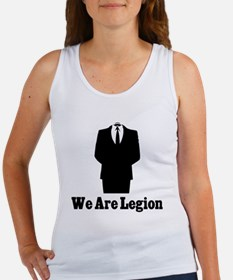 Cute Anonymous legion operation payback Women's Tank Top