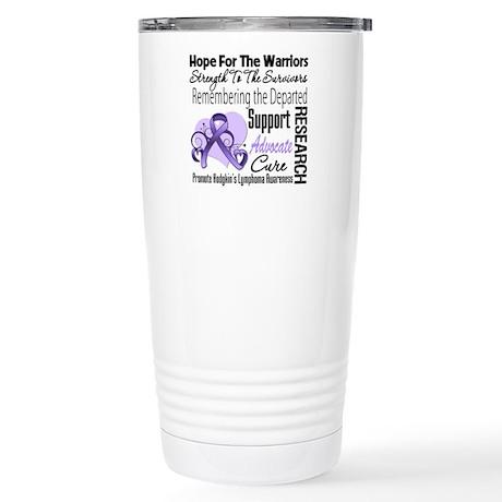 Hope Tribute Hodgkin's Stainless Steel Travel Mug
