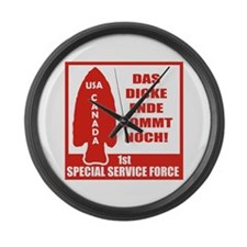 1st Special Service Force Large Wall Clock