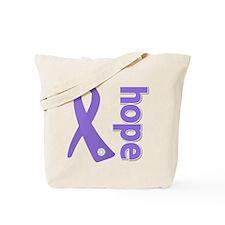 Hope Ribbon Hodgkin's Tote Bag